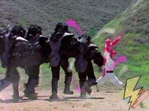Ninja Laser power taking down Tengas