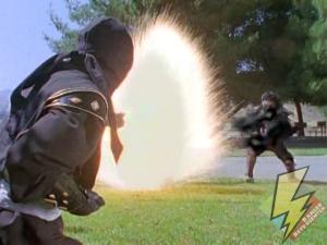 Laser power taking down Tengas