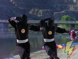 Cloned Black Ninja Ranger