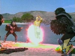Yellow Ninja Ranger vanish
