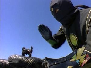 Giant Black Ninja Ranger