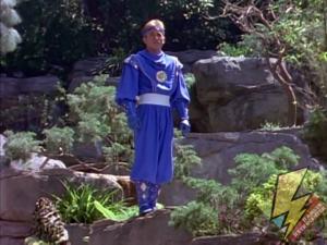Billy as the Blue Ninja Ranger