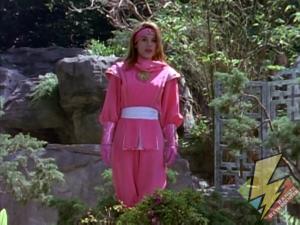 Kimberly as the Pink Ninja Ranger