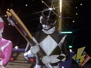 Black Ranger receives the Power Axe