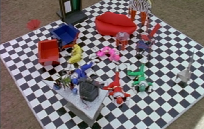 Power Rangers - 4x09 - Invasion of the Ranger Snatchers