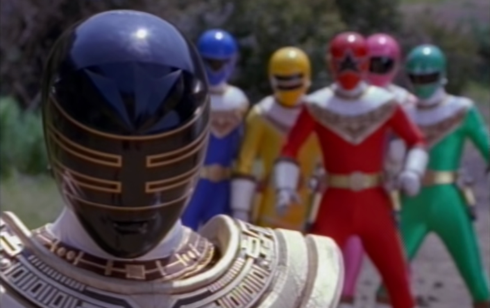Power Rangers - 4x27 - The Power of Gold
