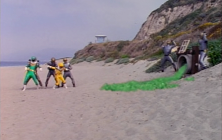 Power Rangers - 4x29 - Oily to Bed, Oily to Rise