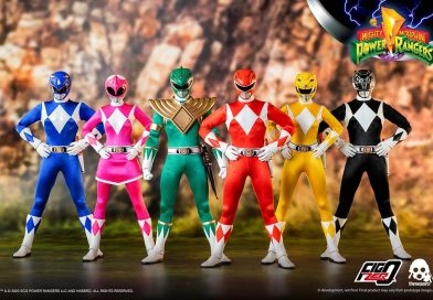 MMPR 1/6th Scale Figure Collection coming 2021