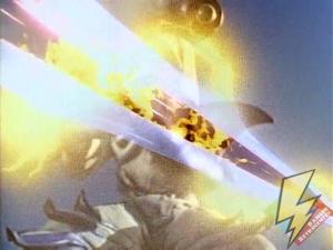 Slippery Shark dodges the Power Blaster