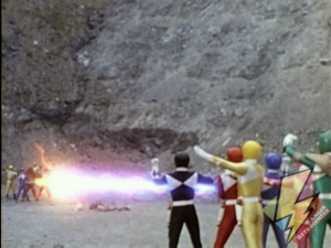 Power Blaster vs Mutant Blaster