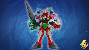 Dino Fury Megazord Warrior Formation